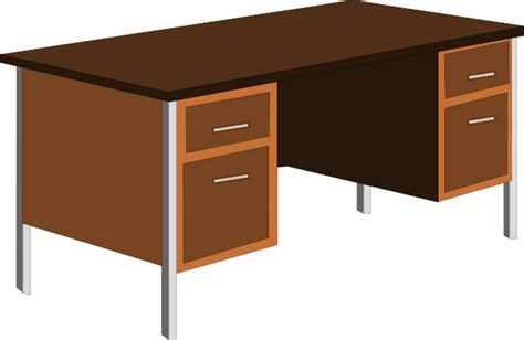 Office Desk Clip Art At Clker Com Vector Clip Art Online Office Desk Clipart