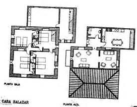 Villa Grundriss 2 Stöckig by La Palma Ferienhaus Landhaus Salazar La Palma Ost