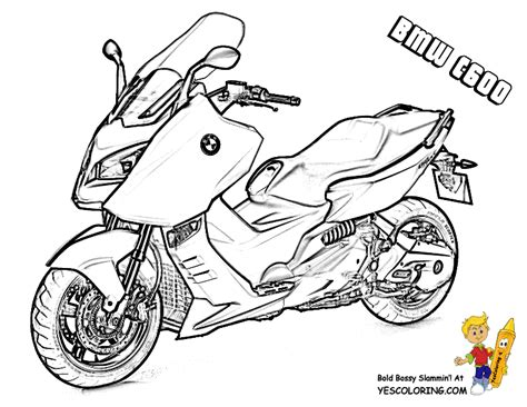 Bmw Motorcycle Coloring Pages | swashbuckler motorcycle coloring sheet free motorcycle