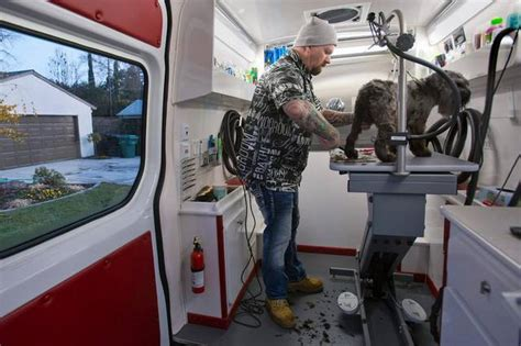 local mobile groomers pet primping pays for groomers the sacramento bee