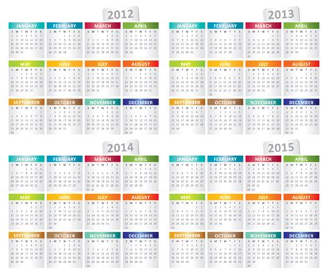 Printable Calendar 2015 To 2018 Free Printable 3 Year Calendar 2015 2018 Search Results