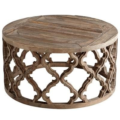 carved wood coffee table brown wooden carved geometric coffee table