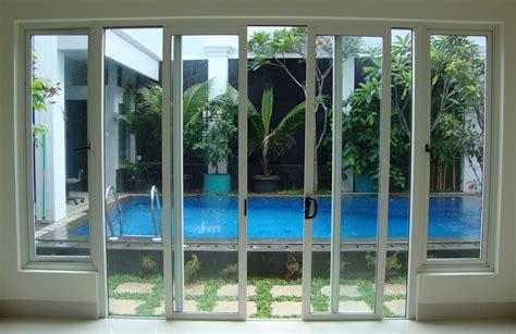 Nomor Rumah Kayu Atap 2020 kusen pintu dan jendela kaca rumah minimalis model terbaru