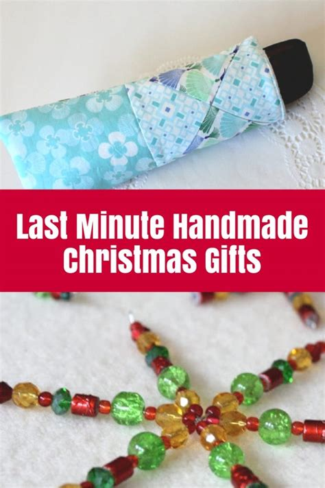 last minute handmade christmas gifts the crafty mummy