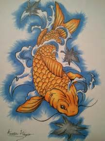 koi fish drawing color koi fish by fl13 on deviantart
