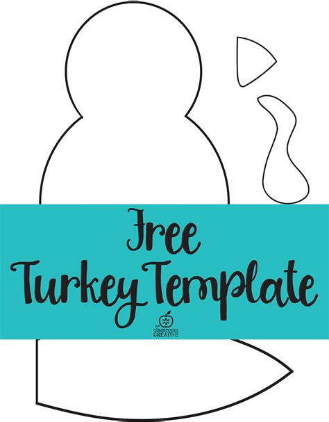 turkey craft template turkey craft for