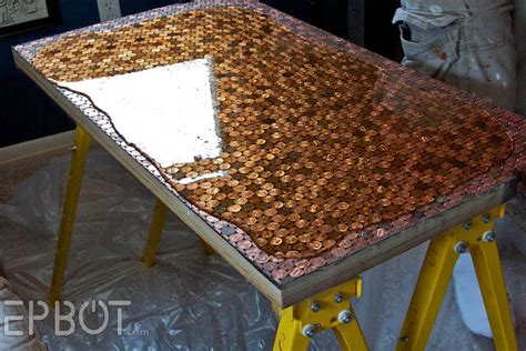 how to make a bar top with resin epbot money money money