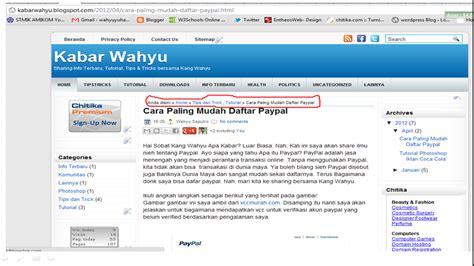 cara membuat yayasan amal cara membuat breadcrumb di blogspot kabar wahyu