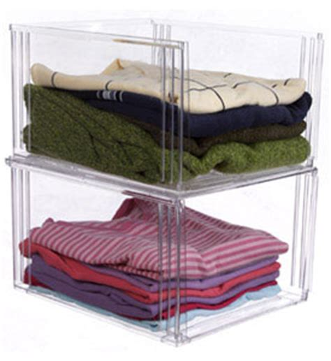 clothing storage bins crystal clear clothing storage bin in shelf bins
