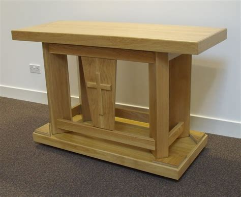 altar bench riverbank woodcrafts greenwich altar table