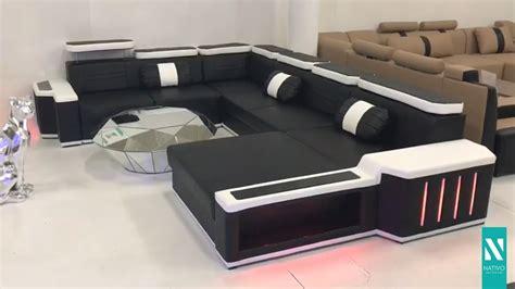 sofa mit led beleuchtung nativo m 246 bel schweiz designer sofa cesaro mit led