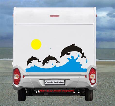 Wohnmobil Aufkleber Delphin by Delfin Aufkleberset Heck Top Motiv F 252 R Das Wohnmobil Big