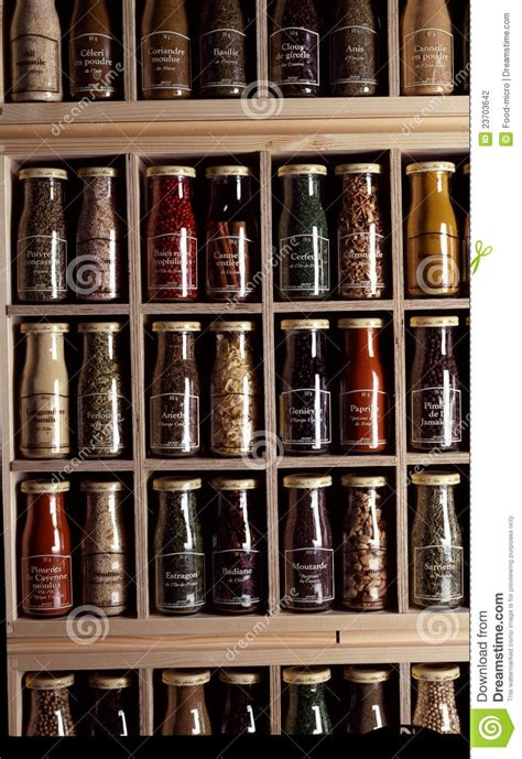 spice rack editorial photography image 23703642