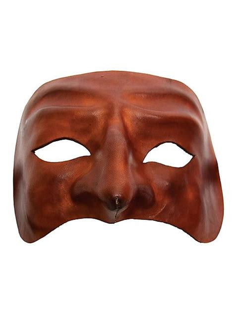 Home Theater Decorations Accessories by Pantalone De Cuoio Commedia Dell 180 Arte Leather Mask