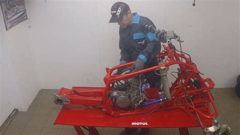 honda trx crf  build youtube
