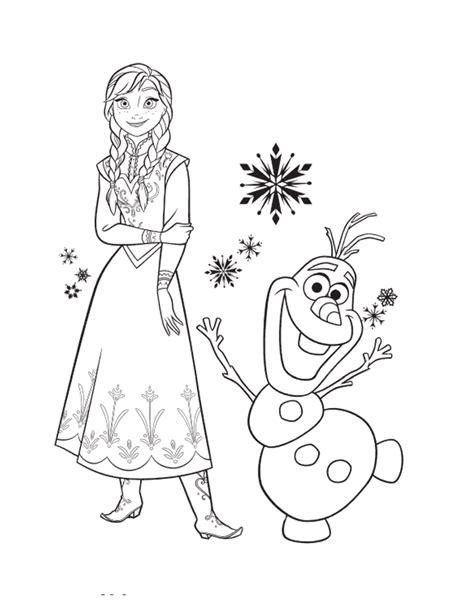 frozen coloring pages anna and elsa and olaf kraina lodu darmowe kolorowanki dla dzieci