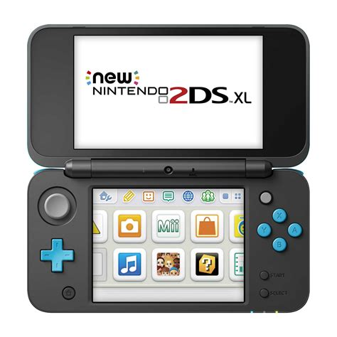 Nintendo New 2ds Xl Console Black Turquoise Bonus 1 nintendo 2ds xl system black and turquoise