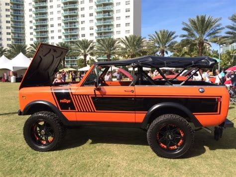 bronco jeep 1973 international scout ii rallye 4x4 ford bronco