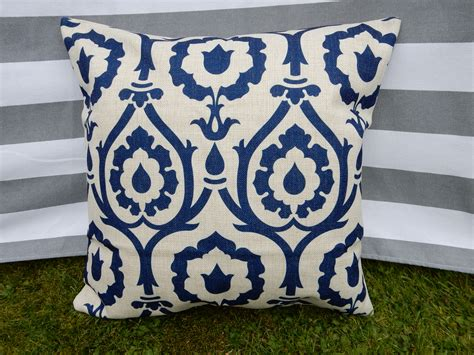 blue patterned cushions uk the lyndsey blue patterned cushion cover jthatched
