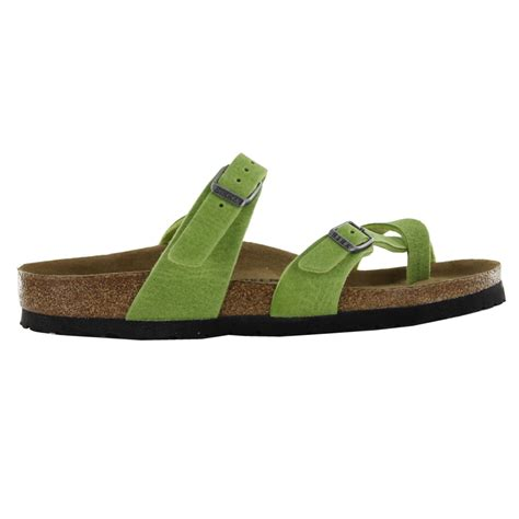 green womens sandals birkenstock mayari green womens sandals 371381