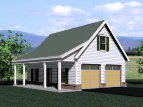 The Garage Plan Shop by Garage Loft Plans Two Car Garage Loft Plan With Country