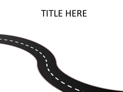 road template road or pathway template