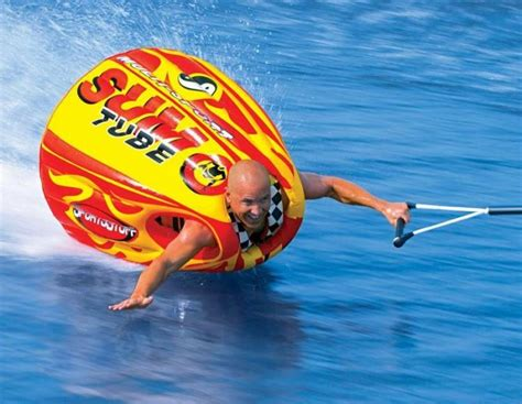 flying boat tube video sumo tube a wearable inflatable tube lets you body surf