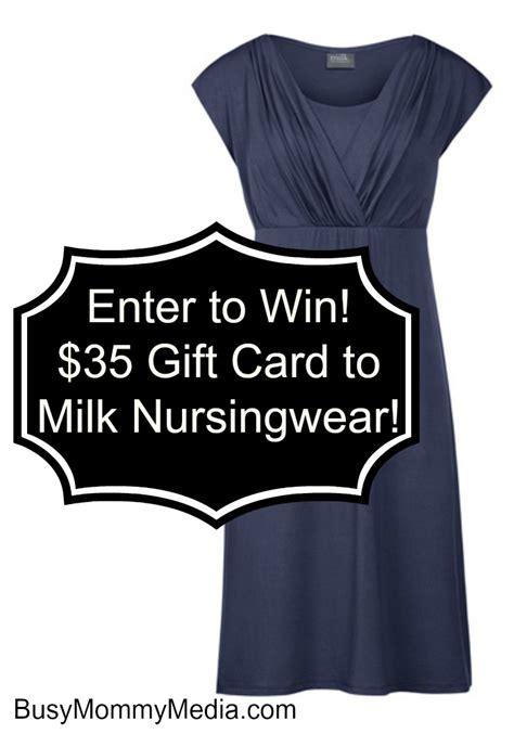 Milk Gift Cards - giveaway milk nursingwear gift certificate