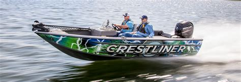 crestliner boats vtc deep v fishing boat 1850 fish hawk