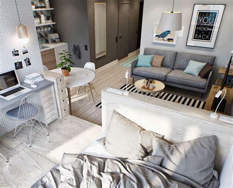 2 zimmer wohnung wohnzimmer schlafzimmer kleine wohnung modern und funktionell einrichten kleine