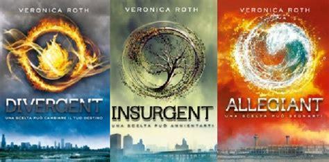 libro divergente divergent trilogy ecco la nuova edizione delle trilogia divergent in occasione dell arrivo al cinema di