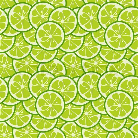 cute green pattern wallpaper cute seamless pattern with green lime slices tasty summer