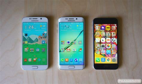 samsung galaxy s6 vs iphone 6
