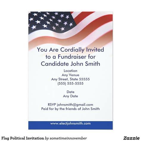 Political Invitation Card