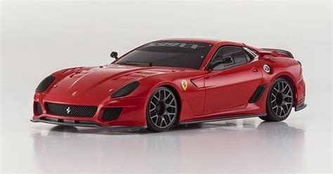 Mini Z Ferrari 599 by Kyoshosan Mini Z Ferrari 599xx Test Car Red