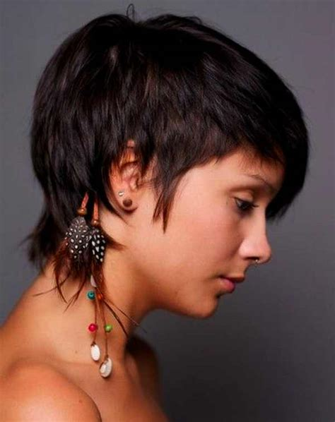 hairstyles that r short n back long n frontand sides short haircuts long in front short in back hair style