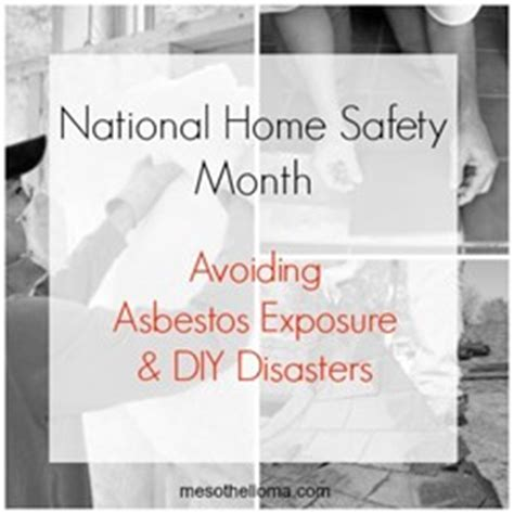 avoiding asbestos exposure diy disasters mesothelioma