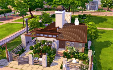 Small Livingroom Designs The Sims 4 The Holiday Homeless Sims