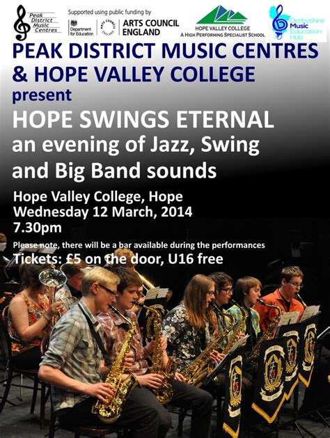 big band sounds of swing pdbb concert with hope valley college big band peak
