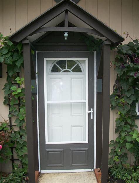 cottage door canopy this old triplex pinterest