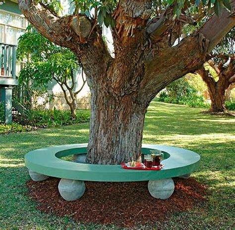 how to make a bench around a tree 17 best ideas about tree seat on pinterest tree bench