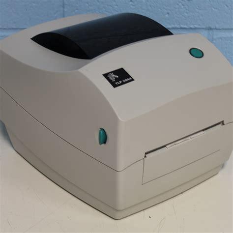 Printer Zebra Tlp 2844 refurbished zebra technologies inc tlp 2844 label printer