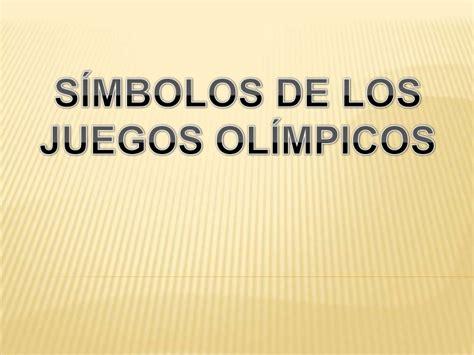 imagenes figurativas y su significado simbolos de los juegos olimpicos
