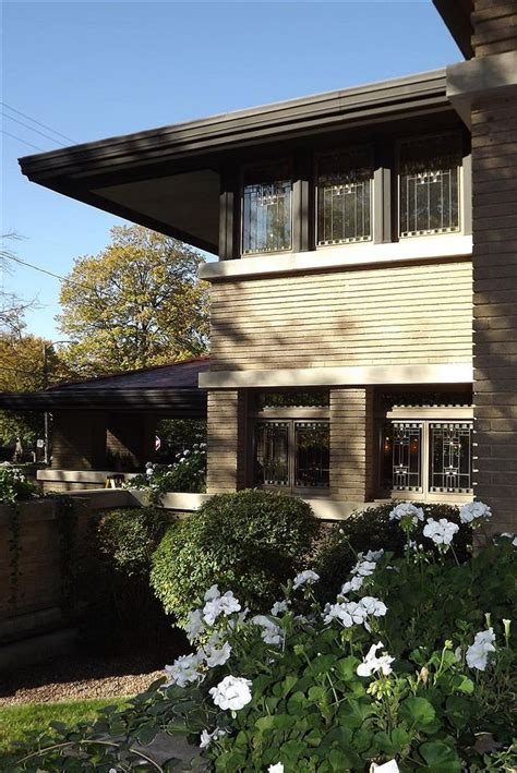 prairie style homes frank lloyd wright meyer may house 1909 grand rapids michigan prairie