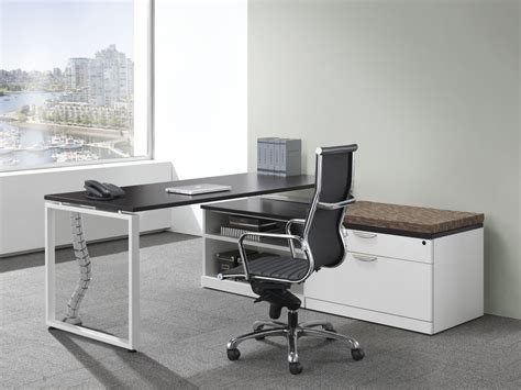 Modern L Desk Modern L Shaped Station Desk Bridgecreek Office