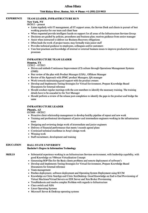 P G Resume by Infrastructure Leader Resume Sles Velvet