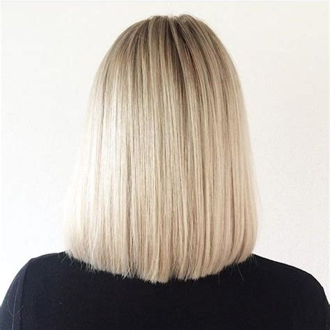 lob haircut back view 2018 popular long bob hairstyles back view