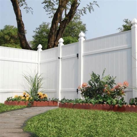 veranda zaun veranda vinyl fence fence ideas