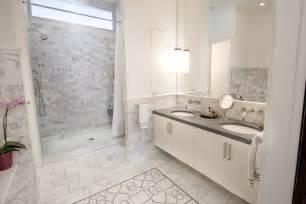 Carrara Marble Tile Bathroom Ideas » New Home Design