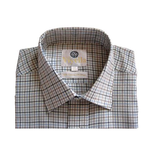 taylor pattern works inc viyella tattersall check mens shirt vy0110 mini check